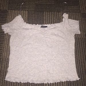 lettuce edge cropped top